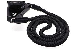 ⑤VKO カメラストラップ クライミングロープ製 ショルダーストラップ