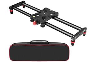 Zecti カメラスライダー 40cm
