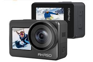 AKASO Brave7 アクションカメラ IPX8