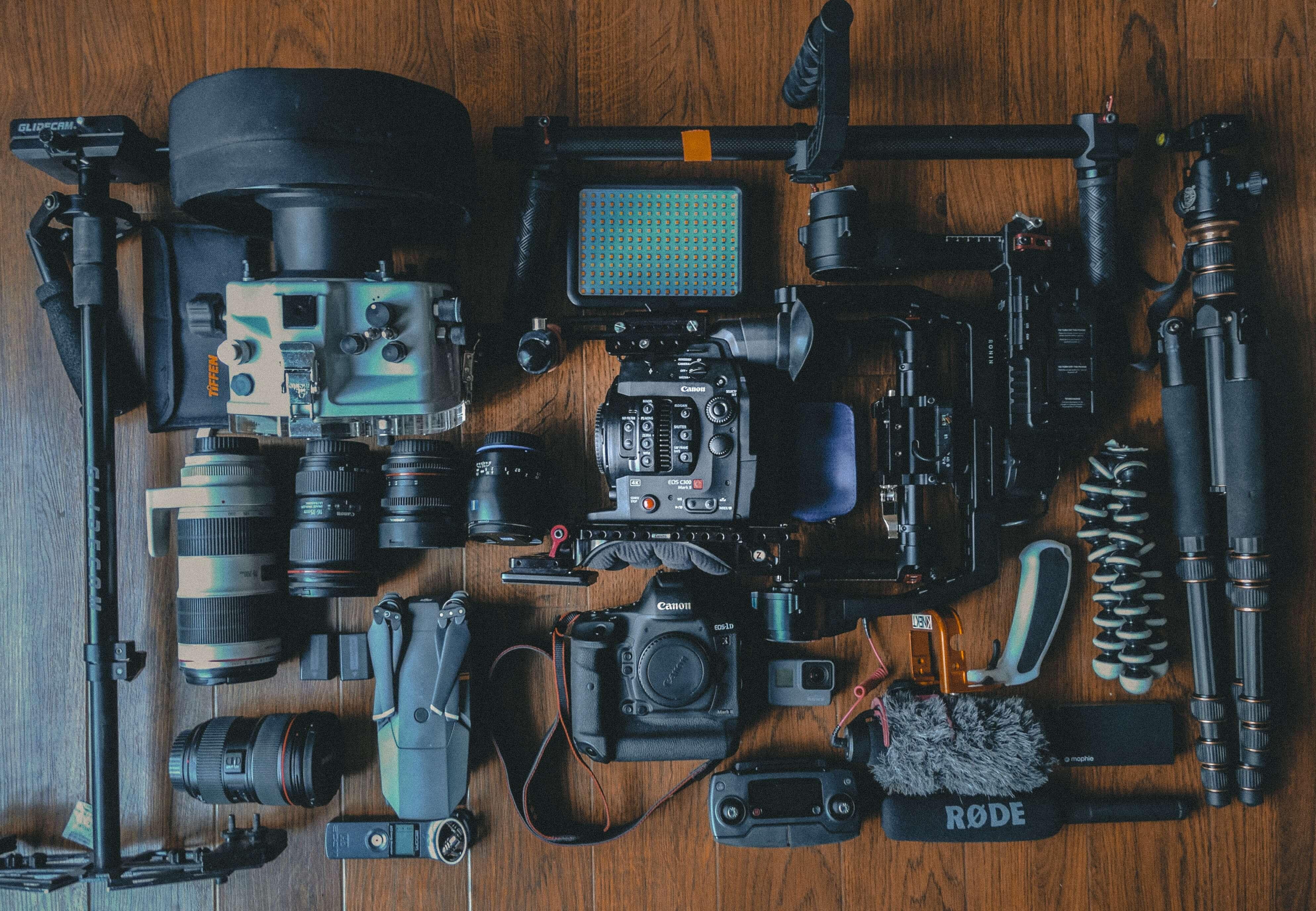一眼レフカメラでの動画撮影に使用する機材を全部紹介!【一眼ムービー】