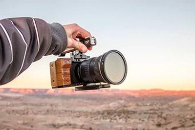 カメラリグで本格的な撮