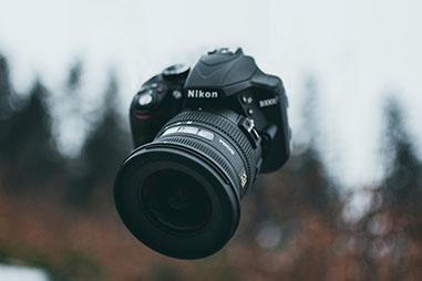 ニコンの一眼レフカメラやミラーレスカメラの場合