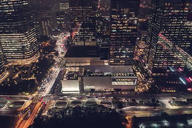 夜景を撮影する時1