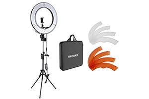 Neewer カメラ写真 ビデオ用照明セット 18インチ