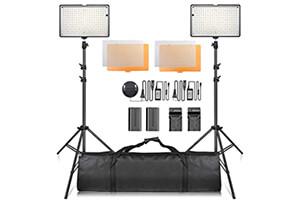 SAMTIAN 240 LED ビデオライトキット